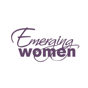 emerging women logo
