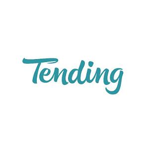 tending logo